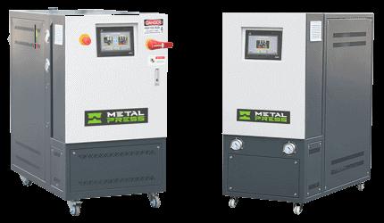 MetalPress Temperature Contol Units - Hot Oil and Hot Water New