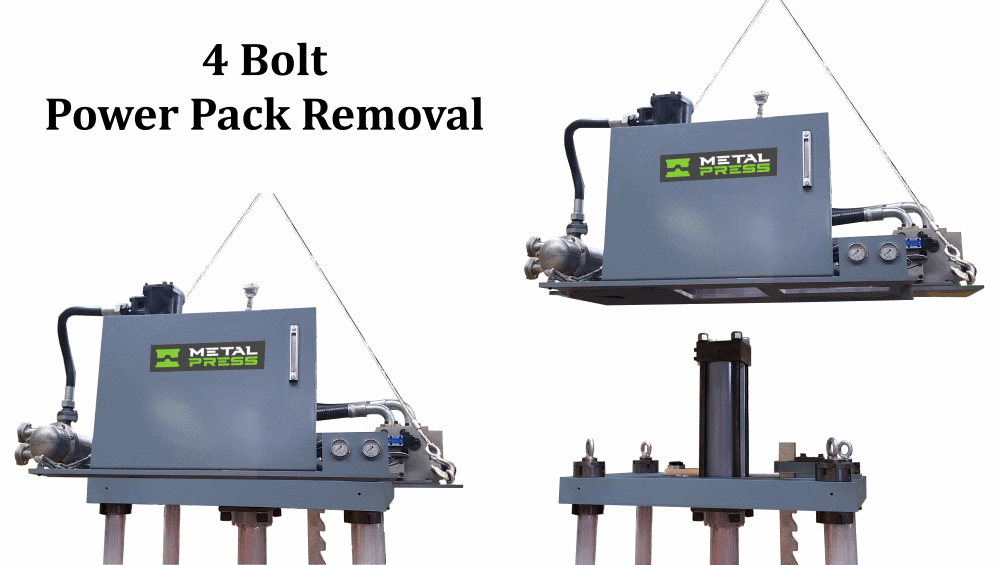 4 Bolt Power Pack Removal