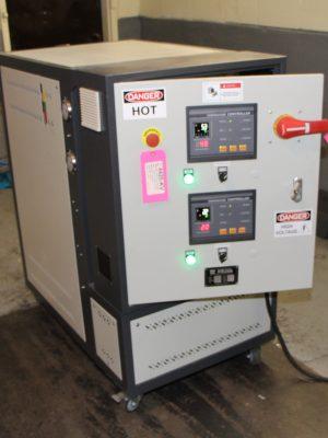 THC-D-24 Hot Oil Temperature Control Unit at Mag-Tec Casting Corp - 03
