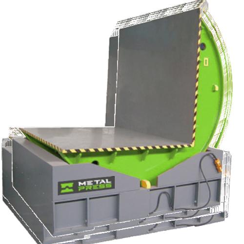 Volteador de moldes, matrices y cargas pesadas